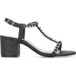 Carvela Blazen - Black Mid Heel Sandals found on Bargain Bro UK from Kurt Geiger UK