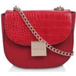 Womens Carvela Jill Saddle Xbody, No Size, Red found on Bargain Bro UK from Shoeaholics