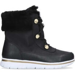 Womens Carvela Ravineblack Faux Fur Waterproof Snow Boots, 6 UK found on MODAPINS from Shoeaholics for USD $139.60