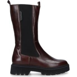 Kurt Geiger London Stint - Brown Leather Knee Boots found on MODAPINS from Kurt Geiger UK for USD $273.70