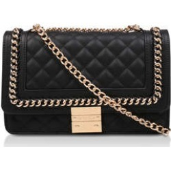 Carvela Large Bailey Chain Bag - Black Quilted Chain Shoulder Bag found on Bargain Bro UK from Kurt Geiger UK