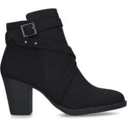 Carvela Comfort Tara - Black Block Heel Ankle Boots found on Bargain Bro UK from Kurt Geiger UK