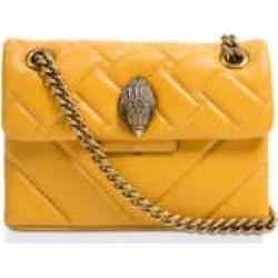 Kurt Geiger London Mini Kensington - Yellow Quilted Leather Mini Bag found on Bargain Bro UK from Kurt Geiger UK