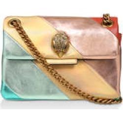 Kurt Geiger London Mini Kensington S Bag - Gold Rainbow Leather Mini Shoulder Bag found on Bargain Bro UK from Kurt Geiger UK