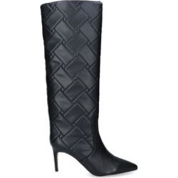Kurt Geiger London Bickley Quilted - Black Quilted Knee Boots found on MODAPINS from Kurt Geiger UK for USD $135.40