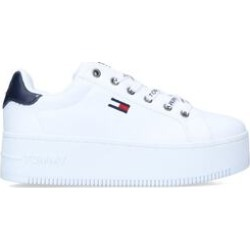 Womens Tommy Hilfiger Iconic Essential Flatform, 5 UK, White found on Bargain Bro UK from Shoeaholics