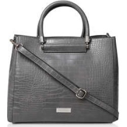 Carvela Flow Hardware Handle Tote - Croc Print Tote found on Bargain Bro UK from Kurt Geiger UK