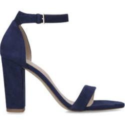 Womens Aldo Jerayclyanavy Suede Block Heel Sandals, 7 UK found on MODAPINS from Shoeaholics for USD $26.58