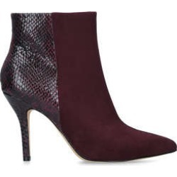 Nine West Flagship Ankle Boot - Red Stiletto Heel Ankle Boots found on Bargain Bro UK from Kurt Geiger UK