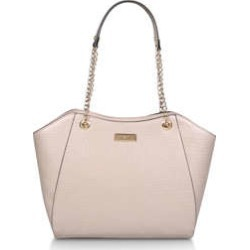 Carvela Bex Chain Handle Tote - Nude Tote Bag found on Bargain Bro UK from Kurt Geiger UK