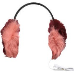 Womens Ugg Multi Fur Leather Earmuffmulti Fur Leather Earmuff Ladies Accessories Ugg Pink found on Bargain Bro from Shoeaholics for £29