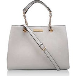 Womens Bennie Chain Str Tote Carvela Grey found on Bargain Bro UK from Shoeaholics