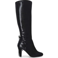 Carvela Comfort Tori - Black Block Heel Knee High Boots