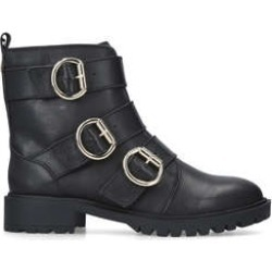 Womens Kg Kurt Geiger Taniatania 50 Mm Heel Ankle Boots Kg Kurt Geiger Black Biker Boots Snow Boots, 3 UK found on MODAPINS from Shoeaholics for USD $96.42
