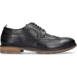 Mens Silver Street Fenchurchsilver Street Fenchurch Black Leather Formal Shoes, 8 UK found on Bargain Bro UK from Shoeaholics