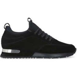 Mens Mallet Archwayblack Leather Low Top Trainers, 10 UK found on MODAPINS from Shoeaholics for USD $182.18