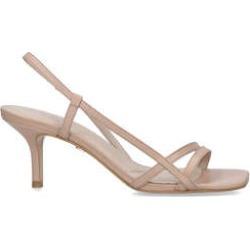 Kg Kurt Geiger Feefee - Nude Stiletto Heel Strappy Sandals found on Bargain Bro UK from Kurt Geiger UK