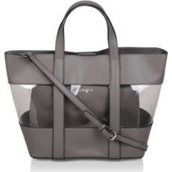 0230c28f2440 Carvela Perspex Tote With Pouch - Grey Perspex Tote Bag found on MODAPINS  from Kurt Geiger