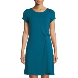 Knotted Crewneck T-Shirt Dress found on MODAPINS from Lastcall.com for USD $85.00