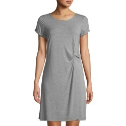 Knotted Crewneck T-Shirt Dress found on MODAPINS from Lastcall.com for USD $72.00