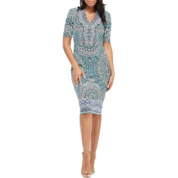 Bodycon Pattern Midi Dress found on MODAPINS from Lastcall.com for USD $79.00