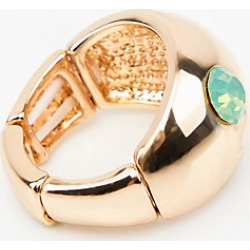 Le Chateau Womens - Gem Dome Ring in Mint/Gold found on Bargain Bro Philippines from Le Chateau Stores for $12.95