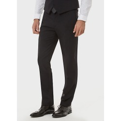 Le Chateau Mens - Tropical Wool Slim Fit Pant in Black Size 40 Polyester/Wool found on Bargain Bro Philippines from Le Chateau Stores for $110.00