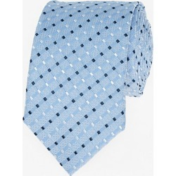 Le Chateau Mens - Stripe Silk Skinny Tie in Blue found on Bargain Bro India from Le Chateau Stores for $49.95
