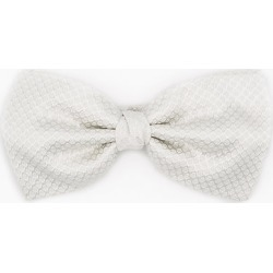 Le Chateau Mens - Italian-Made Tonal Dot Print Silk Bow Tie in White found on Bargain Bro India from Le Chateau Stores for $29.99