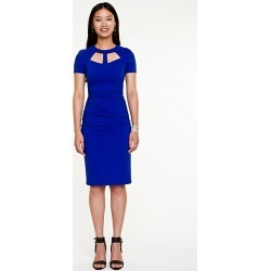 Le Chateau - Bengaline Cutout Fitted Dress