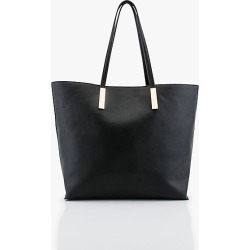 Le Chateau Womens - 3-in-1 Pebbled Leather-Like Tote Bag in Black Synthetic/Leather found on Bargain Bro India from Le Chateau Stores for $69.95