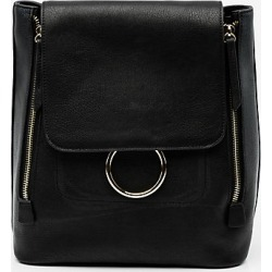 Le Chateau Womens - Faux Leather Backpack in Black Synthetic/Leather found on Bargain Bro India from Le Chateau Stores for $49.99