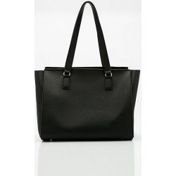 Le Chateau Womens - Faux Leather Tote Bag in Black Synthetic/Leather found on Bargain Bro India from Le Chateau Stores for $39.99