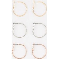 Le Chateau - Set of Hoop Earrings