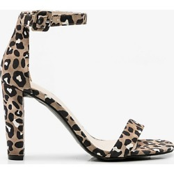 Le Chateau Womens - Leopard Print Ankle Strap Sandal Size 8.5 Synthetic found on Bargain Bro Philippines from Le Chateau Stores for $49.99