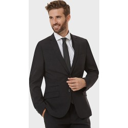 Le Chateau Mens - Tropical Wool Slim Fit Blazer Jacket in Black Size 40 Polyester/Wool found on Bargain Bro Philippines from Le Chateau Stores for $210.00