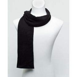 Le Chateau Mens - Cotton Scarf in Black found on Bargain Bro India from Le Chateau Stores for $19.99
