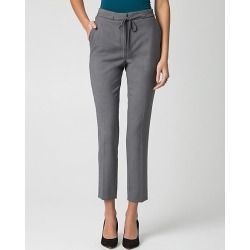 Le Chateau Womens - Woven Slim Leg Pant in Medium Grey Size 16 Polyester found on Bargain Bro India from Le Chateau Stores for $49.99