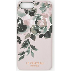 Le Chateau Womens - Floral Print Case for iPhone 6/6s Plus in Blush found on Bargain Bro India from Le Chateau Stores for $4.99