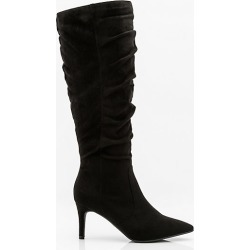 Le Chateau Womens - Pointy Toe Knee High Boot in Black Size 8.5 Synthetic found on Bargain Bro Philippines from Le Chateau Stores for $99.99