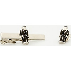 Le Chateau Mens - Groom Icon Tie Clip in Black/Silver Metal found on Bargain Bro India from Le Chateau Stores for $19.99
