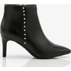 Le Chateau Womens - Studded Pointy Toe Ankle Boot in Black Size 7 Synthetic found on Bargain Bro Philippines from Le Chateau Stores for $69.99