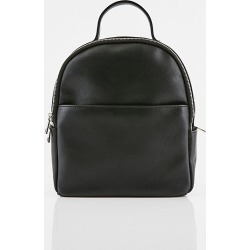 Le Chateau Womens - Saffiano Faux Leather Backpack in Black Synthetic/Leather found on Bargain Bro India from Le Chateau Stores for $69.95