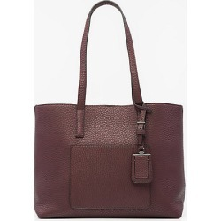 Le Chateau Womens - Faux Leather Tote Bag in Bordeaux Synthetic/Leather found on Bargain Bro India from Le Chateau Stores for $49.99
