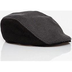 Le Chateau Mens - Houndstooth Ivy Cap in Black/Grey Size Small Cotton/Polyester found on Bargain Bro India from Le Chateau Stores for $19.99