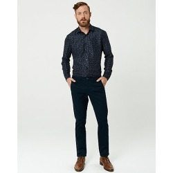 Le Chateau Mens - Cotton Blend Slim Leg Pant in Navy Size 36 found on Bargain Bro Philippines from Le Chateau Stores for $49.99