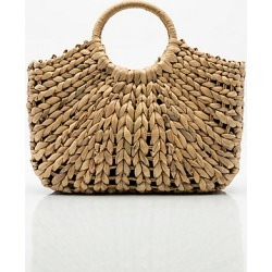 Le Chateau Womens - Raffia Straw Tote Bag in Natural Cotton found on Bargain Bro India from Le Chateau Stores for $39.99