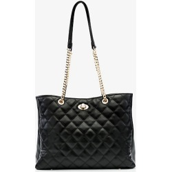 Le Chateau Womens - Faux Leather Quilted Tote Bag in Black Synthetic/Leather found on Bargain Bro India from Le Chateau Stores for $49.99