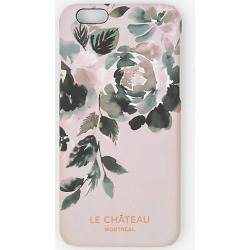 Le Chateau Womens - Floral Print Case for iPhone 6/6s in Blush found on Bargain Bro India from Le Chateau Stores for $4.99