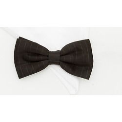 Le Chateau Mens - Microfibre Bow Tie and Pocket Square Set in Black/White Polyester found on Bargain Bro India from Le Chateau Stores for $19.99